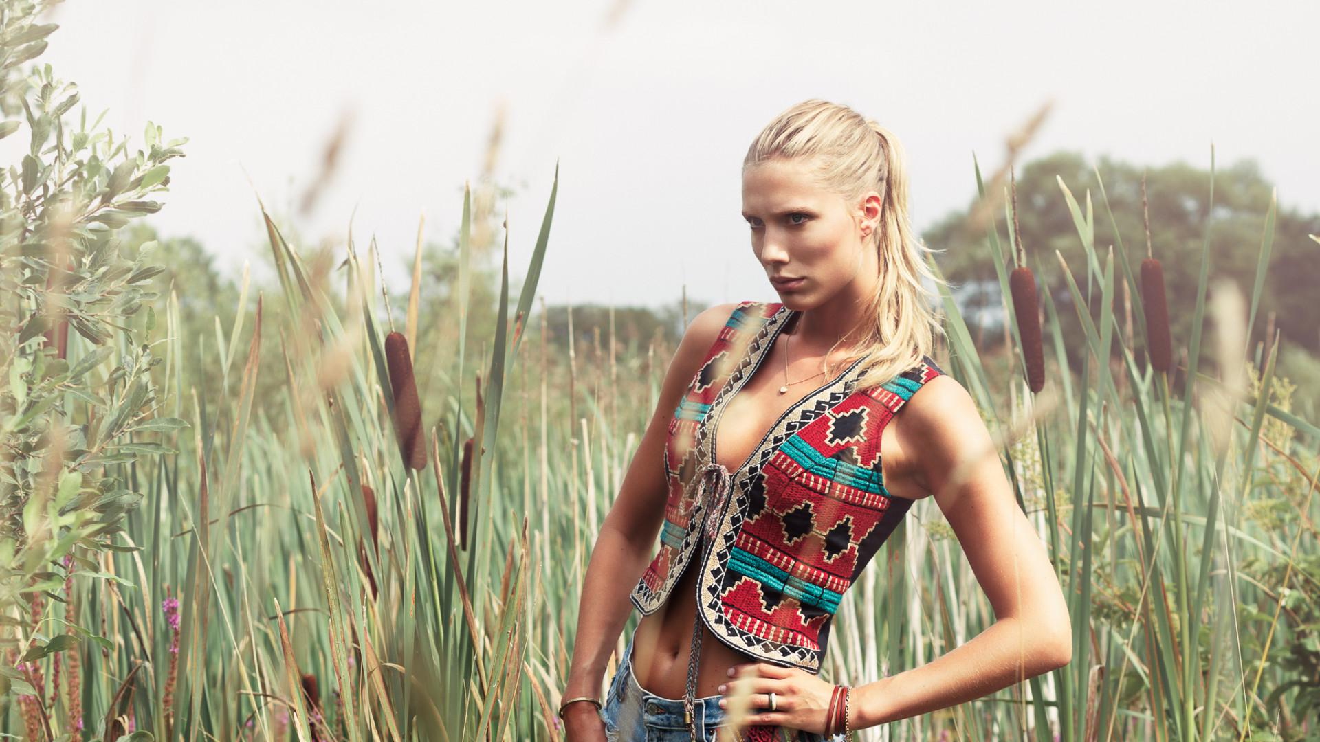 Model portfolio shoot. Karin. Stockholm & London