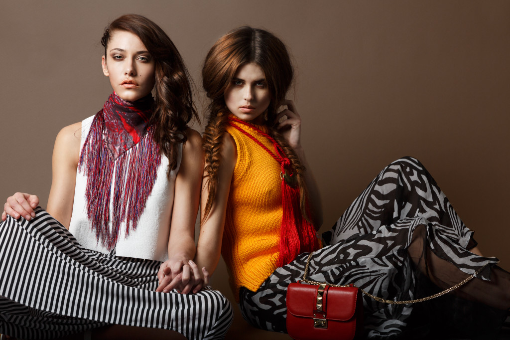 Julia & Holly. Fashion editorial for the View Magazine