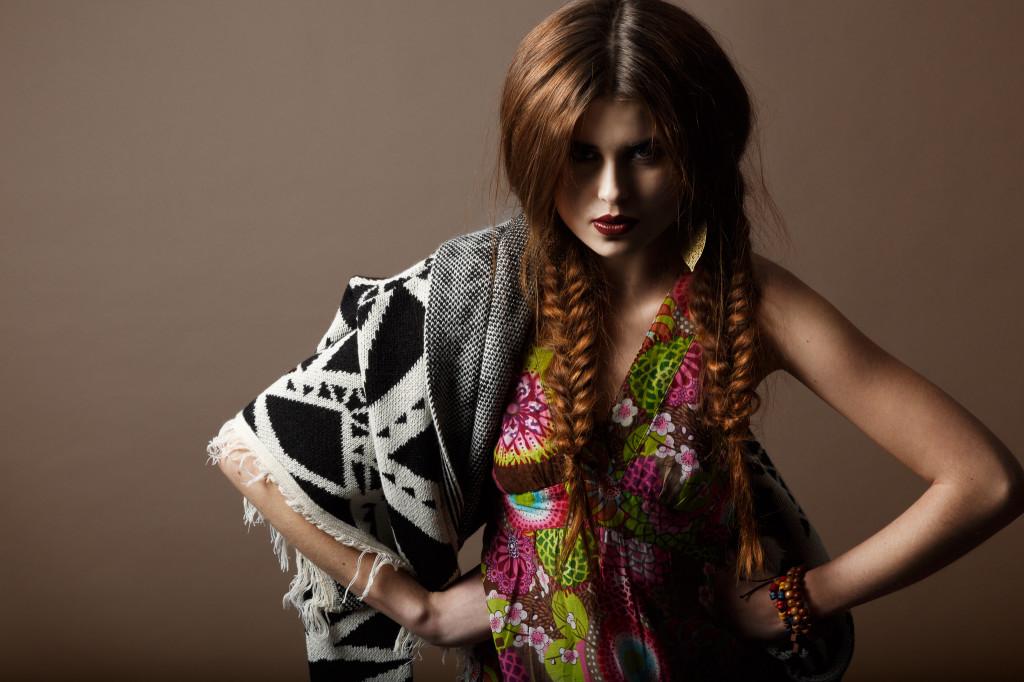 Julia. Fashion editorial for the View Magazine